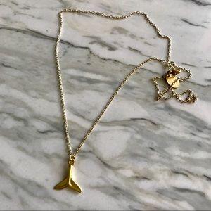 Scotch & Soda gold necklace ~ never worn
